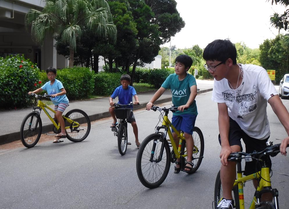 シーサー色付けORサイクリング