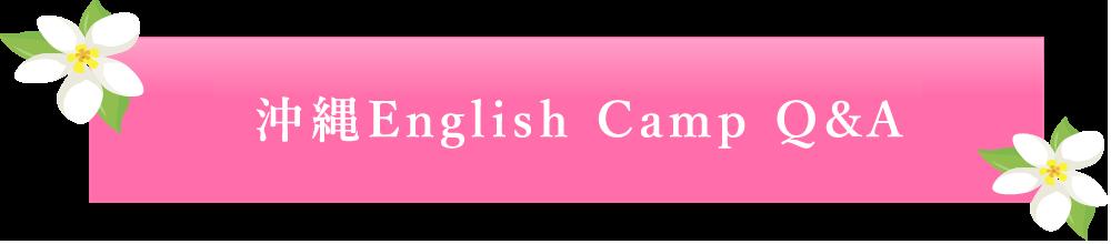 沖縄English Camp Q&A